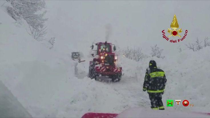 Vigili del Fuoco - Acquasanta Terme - Interventi per emergenza neve - ww...