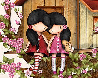 Spring Jolinne girls wall art kids room decor ballerina by jolinne