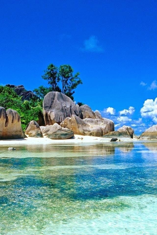 The Baths National Park ~ a geological wonder comprised of boulders, which forms…