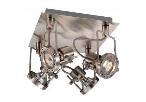 Home Sweet Home Spot Robo (4 lichts) satijn nikkel bestel je online bij Formido, de voordelige bouwmarkt