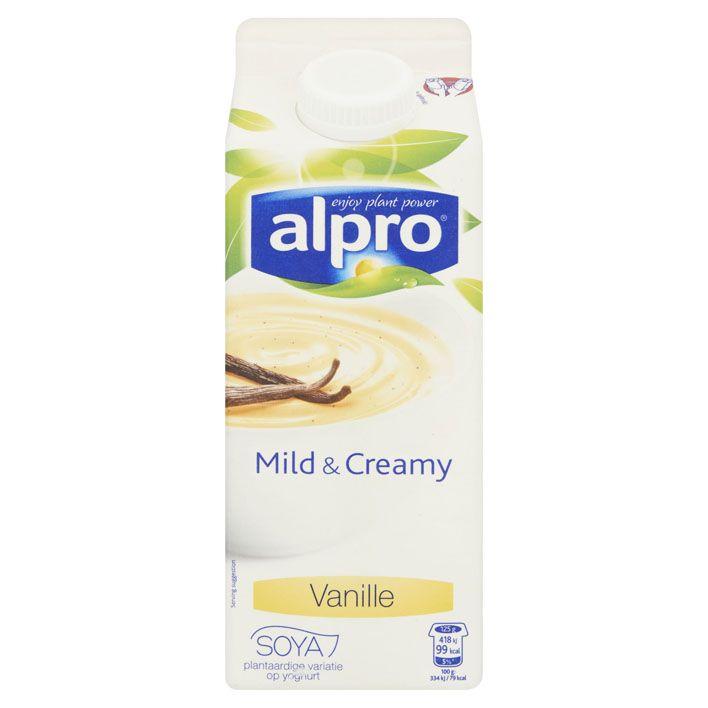 Alpro 'yoghurt' Mild & creamy vanille #vegan