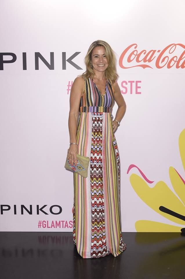 Cristina Fantoni at PINKO and Coca-Cola light #GlamTaste event