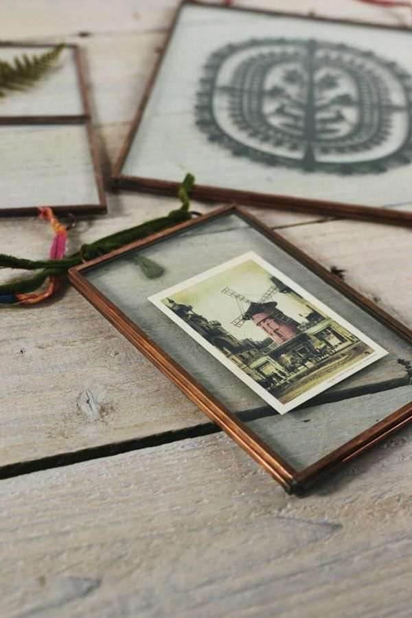 Double sided picture frame copper | Kiko copper frames by Nkuku - Decorator's Notebook