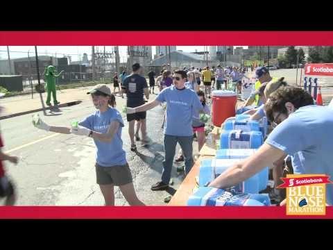 Scotiabank Blue Nose #Marathon 2012 Party Highlight via Spider Video