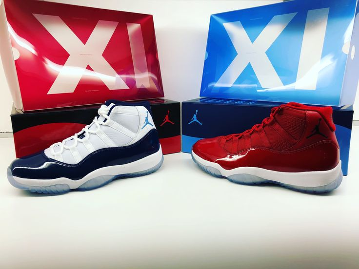 Those beauties will shine for ever ... overwhelmed with my Air Jordan 11 Retro Win Like ´82 University Blue & '96 Gym Red...#nike  #jordan #sneakerhead #sneakers  #sneakeraddict #collection #limited
