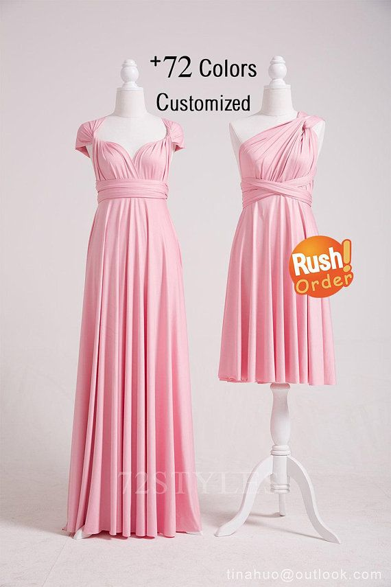 b2bfecc92cb Bridesmaid Dress Blush Pink
