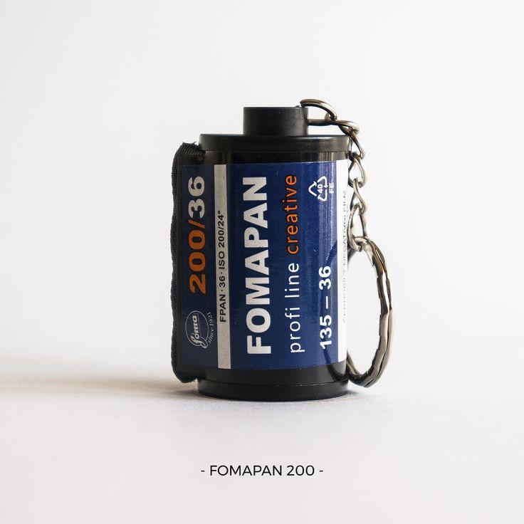 Fomapan 200 | 35mm film photography | keychain