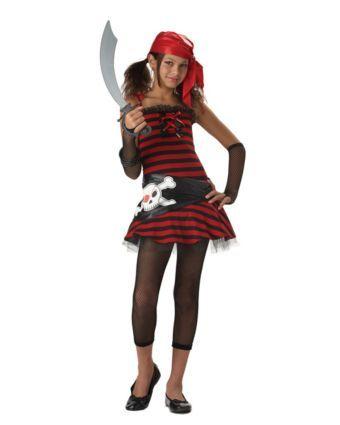 pirate cutie tween costume wholesale pirate costumes for girls - Teenage Girl Pirate Halloween Costumes