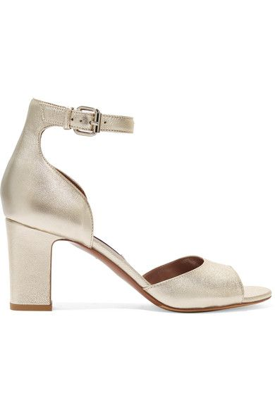 Tabitha Simmons - Jerry Metallic Leather Sandals - Gold - IT38.5