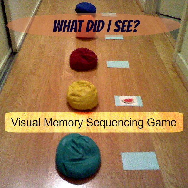 Visual Memory Sequencing Games | #kidsmoveandtalk