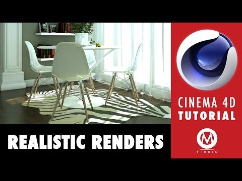 ▶ Cinema 4D Tutorial: Learn The Secrets of Realistic Renders in 6 minutes - YouTube