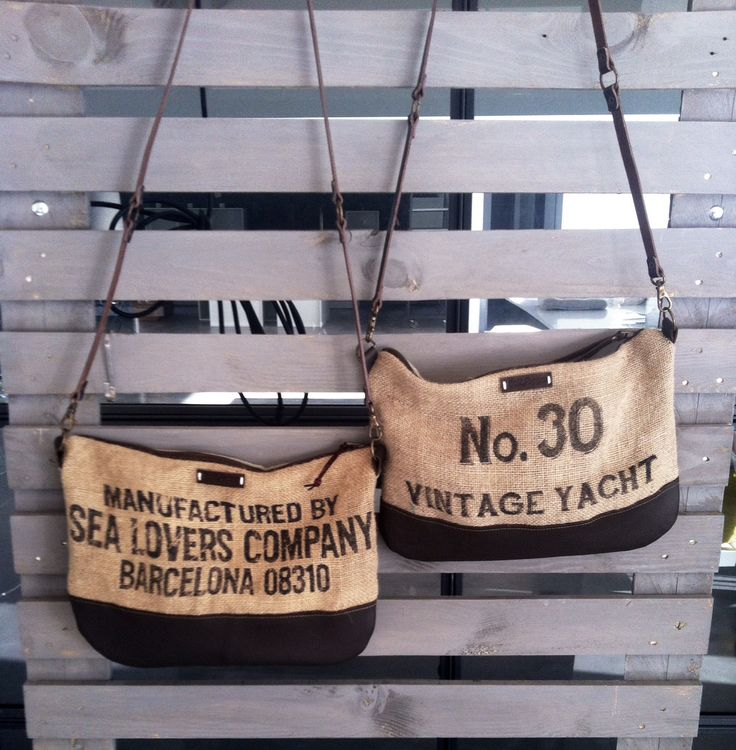 """HAKAI"" burlap bag Sail&Pepper bags"