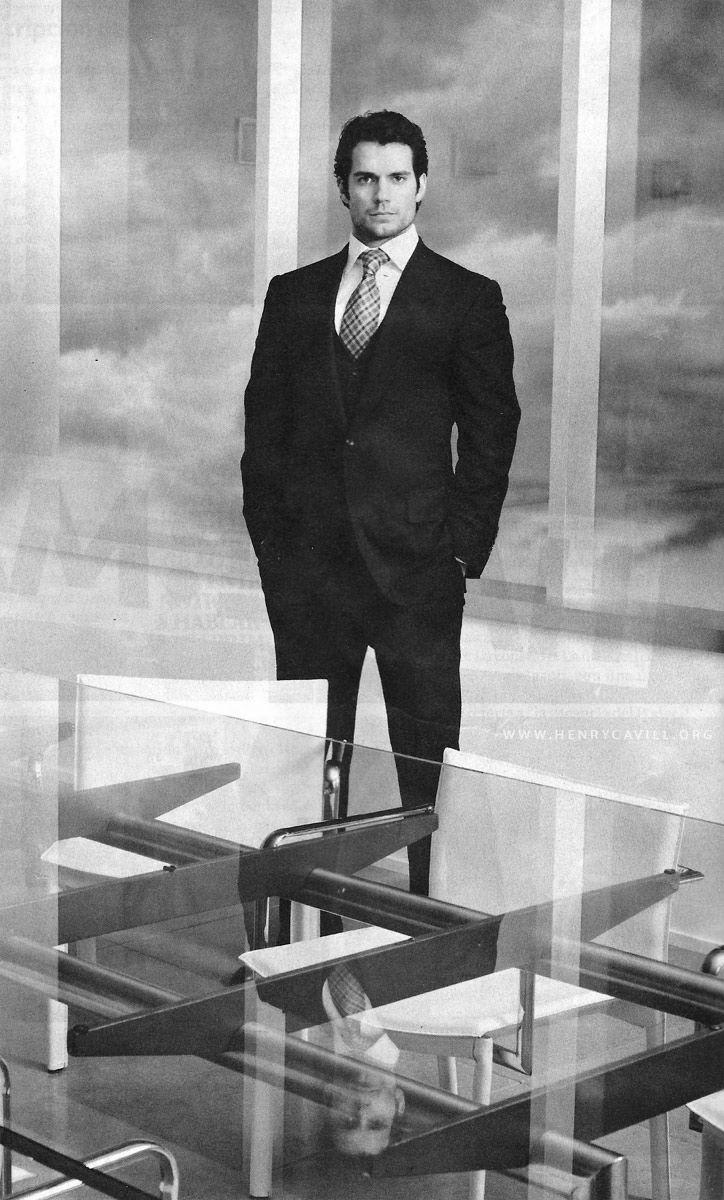 Henry Cavill by Jason Bell