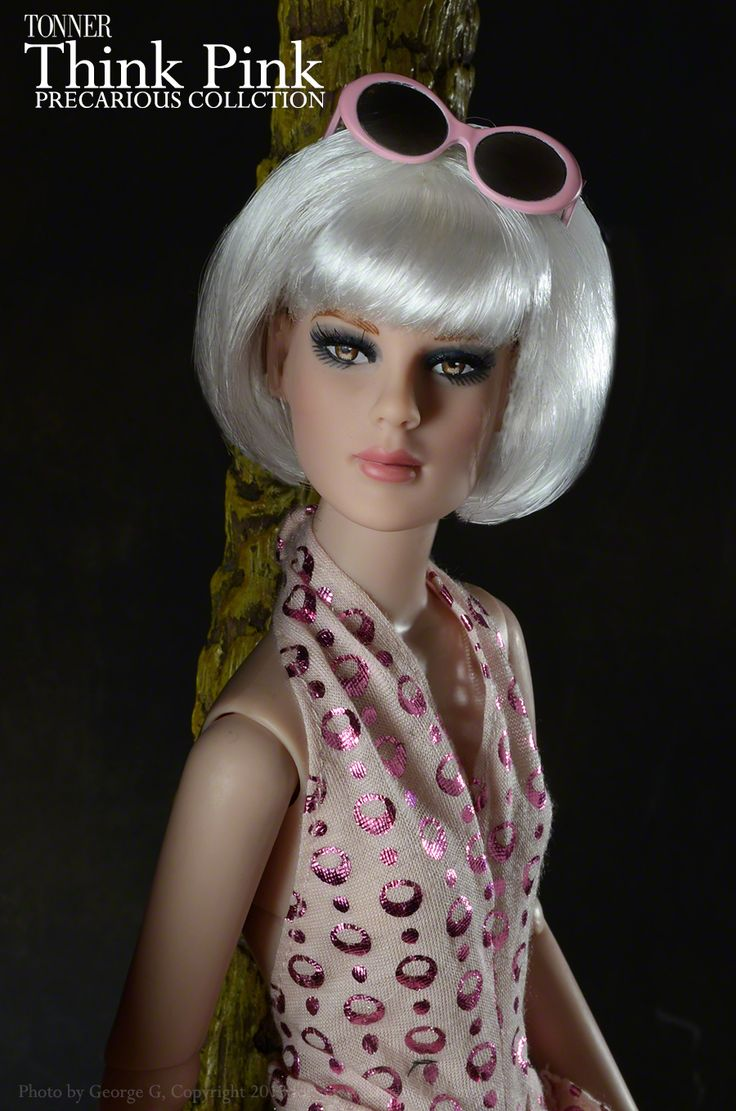 Think pink only 3 left just arrived tonner dolls think pink precarious basic doll http