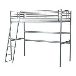 SVÄRTA Loftseng, sølvfarget - 90x200 cm - IKEA