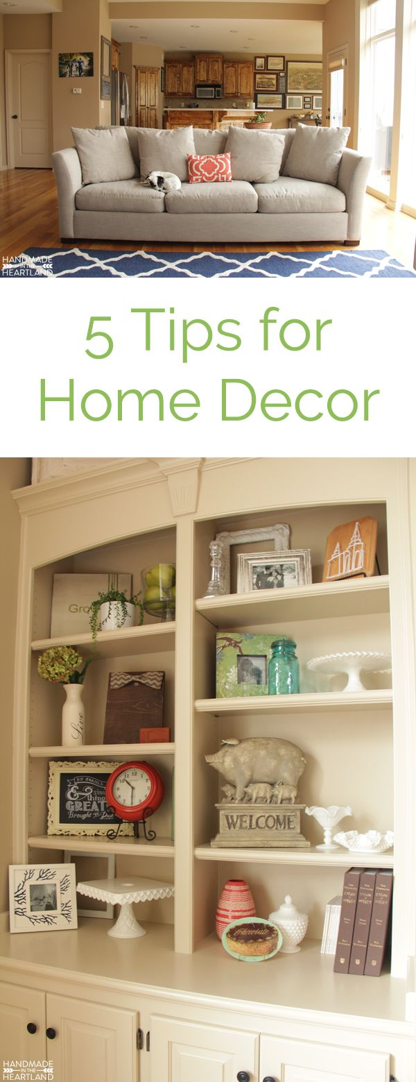 5 Tips to help you decorate your living room, choose decor colors and furniture.