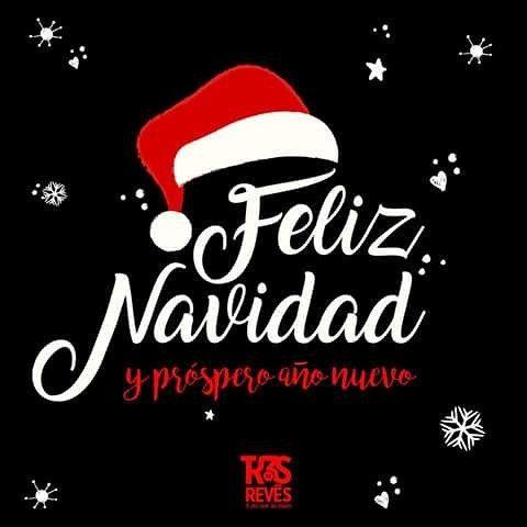 Les deseamos una superfeliz Navidad. Que hoy sea un día para disfrutar, reír, abrazar mucho y comer buñuelos sin límite.  Por el momento les damos las gracias por su cyber apoyo y compañía. Los queremos ♡