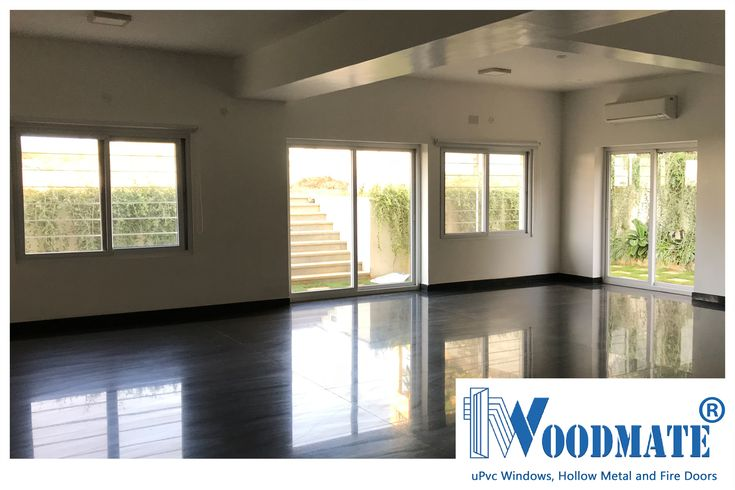 A Common Hall fitted with WoodMate uPVC windows and doors allowing plenty of light and air. Add #WoodMateWindows to your homes.  #PartyHall #uPVCWindows #upvcdoors  #upvcdoorsandwindows #Doors #windows #beautifulwindows #beautifuldoors #Beautifulhomes #interiors #architecture #Bangalore #DeccanWoodMate
