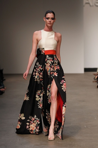 Madre Floral Dress by Australian fashion designer Alex Perry.