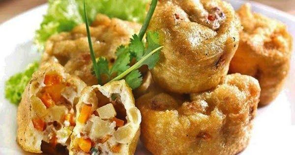 Resep Cara Membuat Martabak Shanghai Resep Makanan Dan Minuman Makanan