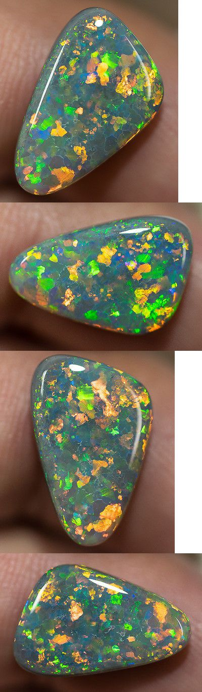 Black Opals 181110: Lightning Ridge Solid Black Opal Stone Multi-Color Gem 4.79Ct Ba030217 -> BUY IT NOW ONLY: $2450 on eBay!