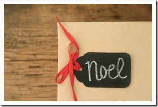 Krétatábla DIY: ajándék kártya
