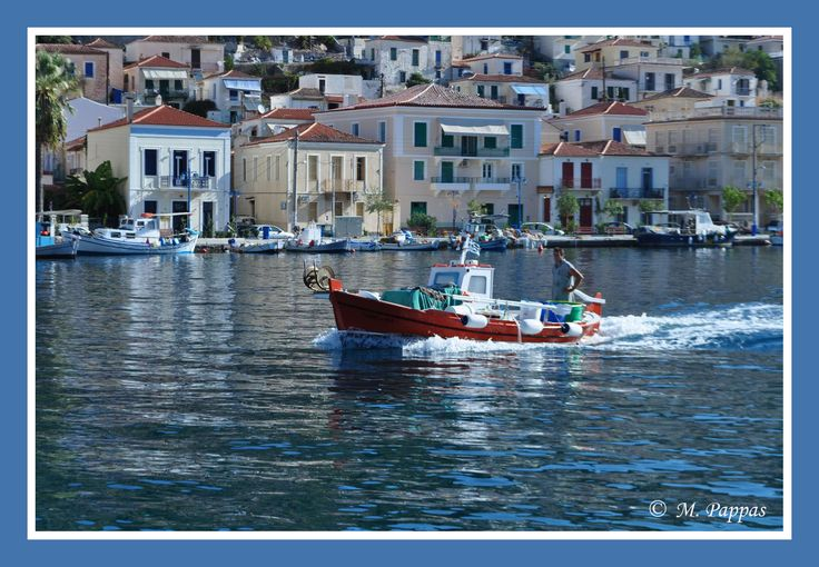 Fishing Boat at Poros - Greece