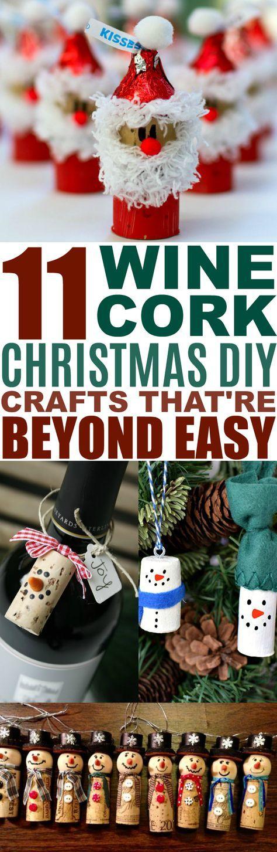 Christmas Wine Cork Crafts: 11 Christmas DIYs That'll Make You go Aww ,  Eeglin2