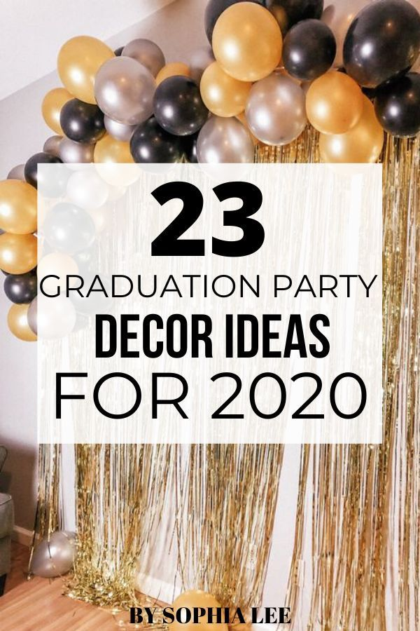 23 Graduation Party Decor Ideas To Use That Will Make Your Party One To Remember By Sophia Lee In 2020 Graduation Party Decor Graduation Party Centerpieces High School Graduation Party Decorations