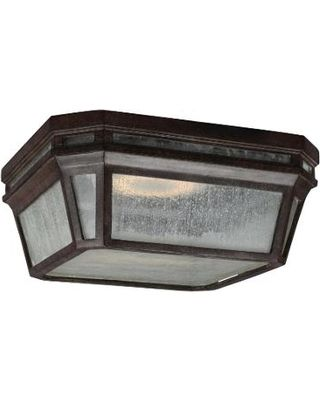 Find the Best Deals on Murray Feiss Londontowne Energy Smart 12 Inch Outdoor Flush Mount OL11313WCT-LED Traditional Outdoor Ceiling Lights Weathered Chestnut