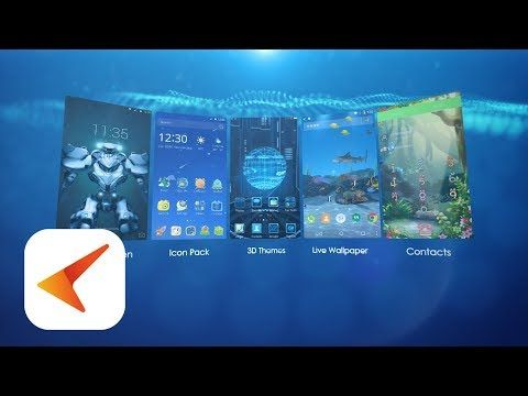 Cm Launcher 3d Theme Wallpaper Secure Efficient Android Apps On Google Play Android Android Apps Live Wallpapers