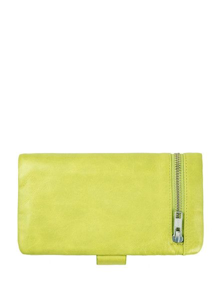 Status Anxiety - Esther Wallet - Lime $79.00