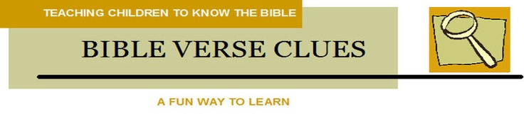Bible Verse Clues