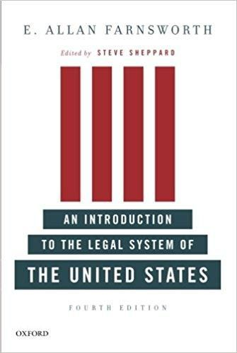 An Introduction to the Legal System of the United States 4