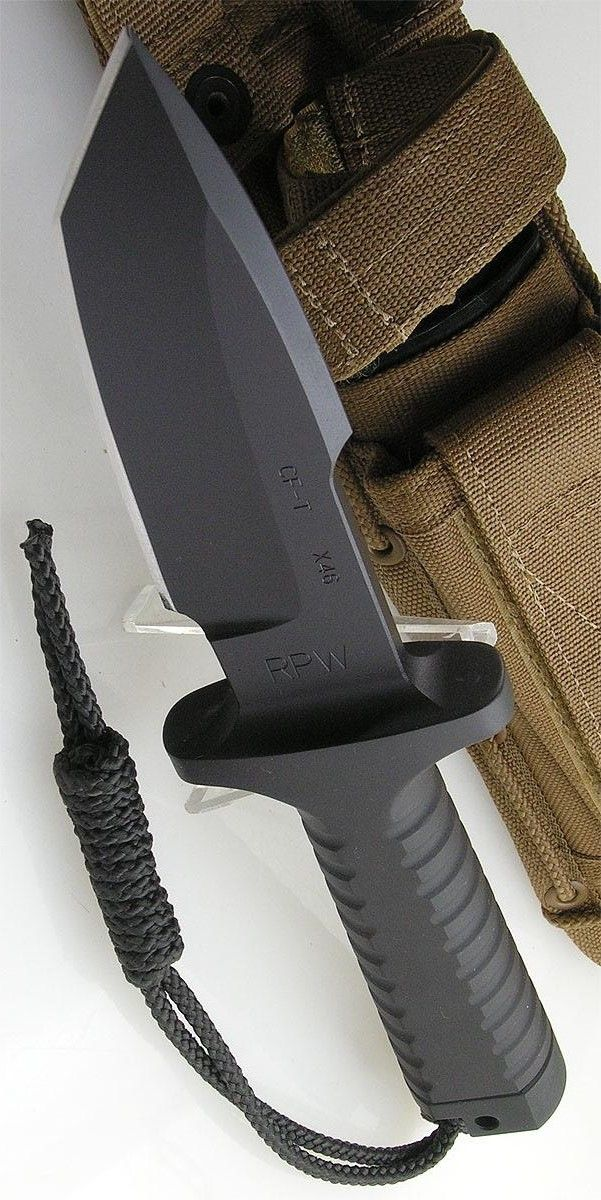 RPW RPWRPWX46OD7T Knives Fixed Knife Model X46 Utility Survival Blade