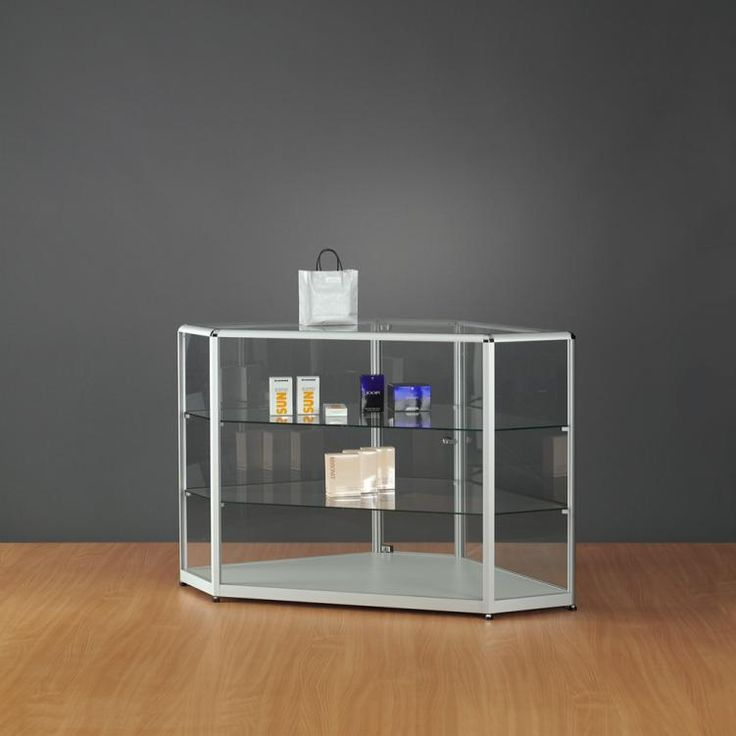 Vitrine comptoir pr sentoir d exposition magasin retif for Vitrine verre but
