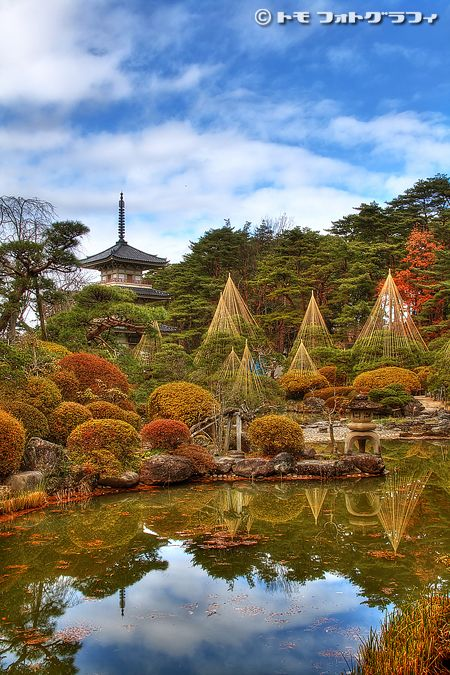 Zentei-En, Sendai, Japan: photo by *WindyLife on deviantART