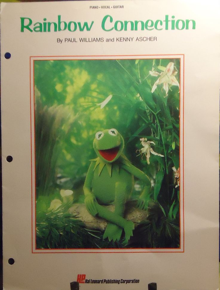 Muppets - Rainbow Connection - Paul Williams - 1979 - Jim Henson - Sheet Music