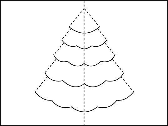 pop up xmas tree