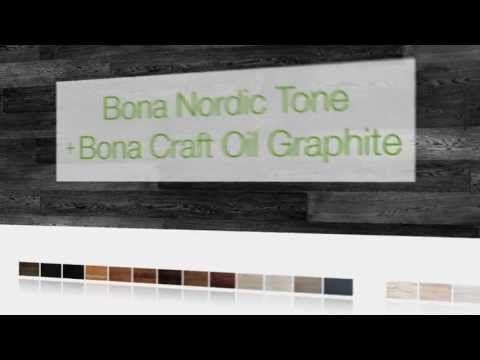 Bona parketolie - Bona Nordic Tone met Bona Craft Oil Graphite
