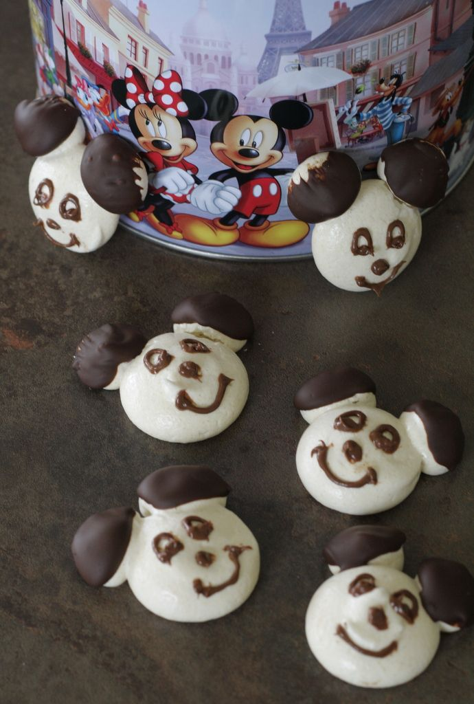 Meringues Mickey