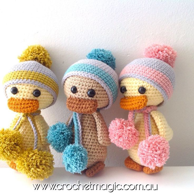 Order this ugly duckling online at our website www.crochetmagic.com.au. Free delivery worldwide for order A$150 or to Australia for order A$70.
