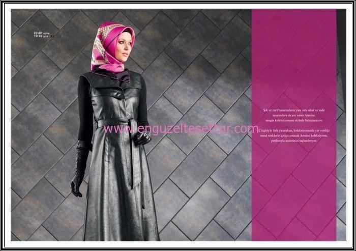 http://www.enguzeltesettur.com/armine-2015-kis-koleksiyonu-yeni-sezon-katalogu/ #tesettüryelek #deri #leather #kolsuz #pardesü #sunideri #ipekeşarp #moda #armine2015 #yelek