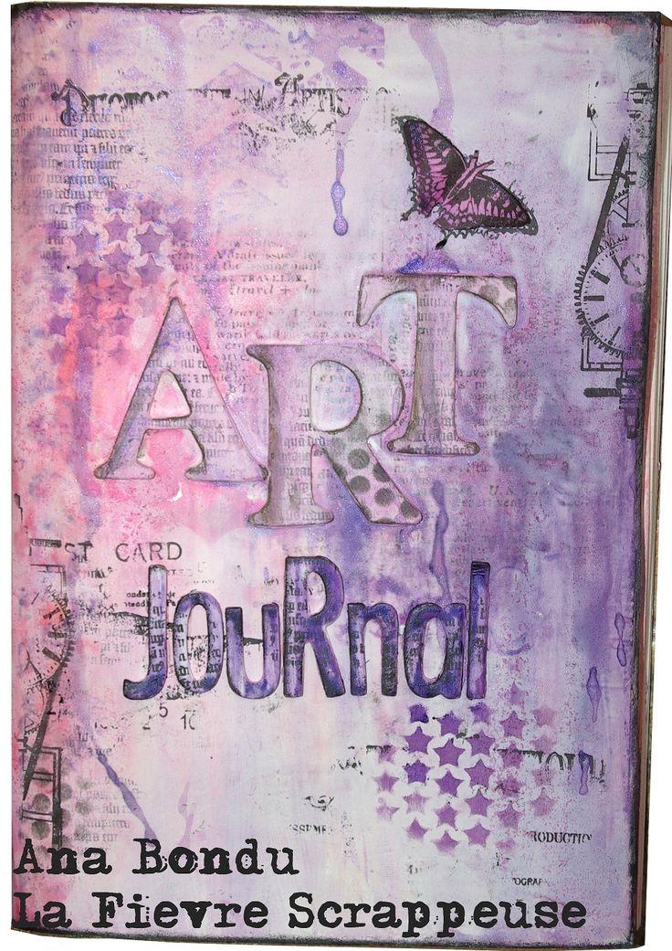 Art Journal, tampons Carabelle studio.