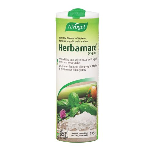 Check out A.Vogel's Herbed Sea Salt and read reviews via @socialnature #trynatural