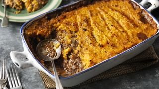 Squash and turkey bake