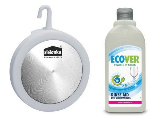 Zielonka Dishwasher Smell Killer And Ecover Dishwasher Rinse Aid Eco Dishwashing Review