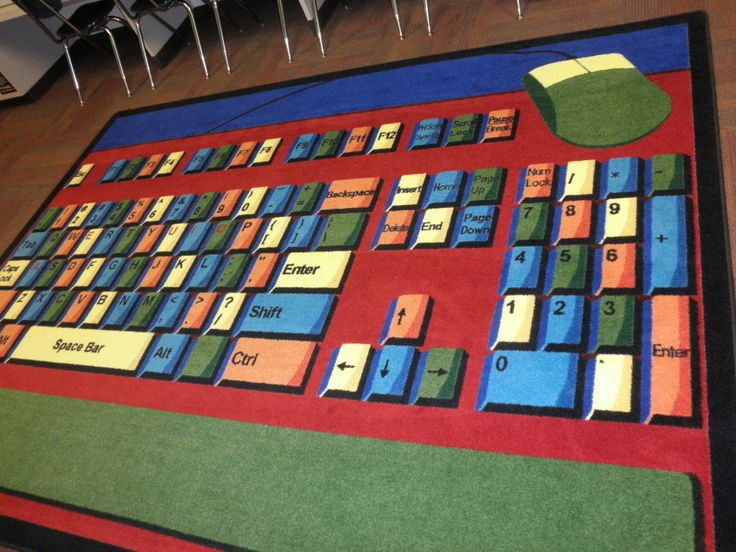 Classroom Decor Rugs : Best images about keyboarding on pinterest computer
