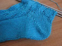 Puntos y tejidos: calcetines paso a paso.....