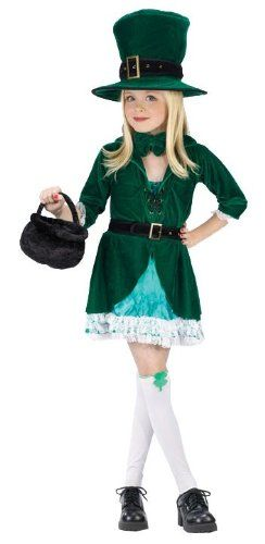 Lucky Leprechaun Child Costume - Small 4-6 - Kids Costumes